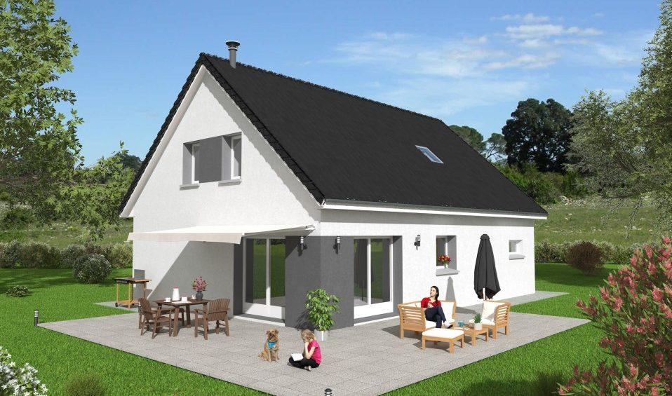 Construction de maison à Villers Buzon